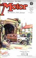 Front cover of The Motorred magazine